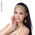 Belly Dance Dancing Head Pieces Hairpin Head Buckle Headband Jewlry Gold Silver