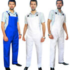 Bib and Brace Dungarees Overall Coverall Work Wear Painters Trousers QUALITY