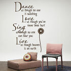 Letters Stylish Wall Stickers Home Art Lettering Sticker Wall Decor Newest 23*40