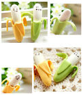 4pcs Novelty Rubber Pencil Eraser Lovely Banana/Octopus Stationery Student Gift