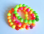 """""""Hottest Summer Trend"""" Neon-Duo Bling Crystal Stretch Bracelet Kit ♥ lady-muck1"""
