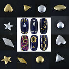 1000pcs 3D Design Nail Art Decoration Stickers Metallic Studs