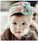 Infants and children chiffon flower hair band / baby hair accessories baby hair