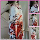 *Stella Morgan * handkerchief sleeveless dress/top butterflies 8,10,12,14,16