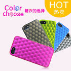 iPearl Free Shipping Honeycomb TPU Case for iPhone 5 - Multicolor Available