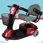 Mid-Size Breeze Mobility Scooter Zipr Zip'r Medical Red Blue Transport Cart