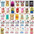 3D Cute Cartoon Animals Silicone Soft Case Cover for Samsung Galaxy S4 IV i9500