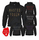 WASTED YOUTH CROSS INVERTED HIPSTER INDIE SWAG FUNNY HOODIE MEN WOMEN HOODY TOP