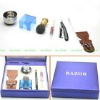 Gold Dollar 208# Razor Brush Strap Stand Bowl Paste Gift Box Set For Christmas