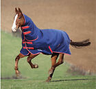 Shires Tempest Original 180 Combo Turnout Horse Rug - Navy/Red Trim  (All Sizes)