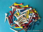 "Pro Slim wooden golf tees 43mm long (1 5/8"") Various Qty's to suit *FREE UK P&P*"
