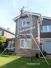 Best DIY Aluminium Scaffold Tower Up to 6.4m (WH) Trapdoor Platform Included