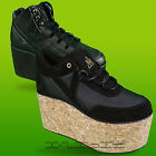 YRU Youth Rise Up Qozmo Platform Stacked Shoes Pumps Hi Tops High Goth Lace Up