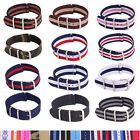 Nato Sports Nylon Military Army Watches Gift Straps Wristwatch Band Buckle 20mm