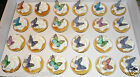 70 gorgeous assorted mini edible wafer butterfly cupcake cake toppers  birthday