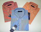 NWT Tommy Hilfiger Short Sleeves Plaid Shirt M,L,XL,2XL,3X - Colors
