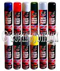 x1 x2 x3 x6 x12 300ml SPRAY PAINT CAR AEROSOL AUTO PRIMER MATT GLOSS LACQUER VAN