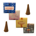 Satya Nag Champa Incense Dhoop Cones - Various Scents - Buy 3 Get 1 Free