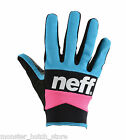 NEW WITH TAGS 2015 Neff RIPPER PIPE GLOVES MULTI COLOR MEDIUM-XLARGE LIMITED