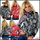 Sexy Ladies Winter Coat Women's Casual Hoodie Jacket Size 8,10,12,14,16 UK