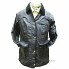 Barbour Ladies Anglesey Wax Cotton Jacket in Purple LWX0242PU71
