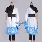Gintama Gintoki Anime Cosplay Costume Kimono Dress S M L XL XXL Size Clothing
