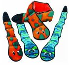 Kyjen No Stuffing Dog Toy Large - Invincibles Snake Loud Squeakers 60cm 100cm