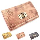 NWT trifold Medium wallet cow leather purse hot sale Omnia Crystal LIZARD 3175B