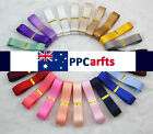 16mm 38mm 50mm Soild Color Double Satin Ribbon For Kids Scrapbooking Hairbow DIY