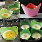 2pcs Cookware Breakfast Cook Tool Random Color Silicone Poached Egg Kitchen Tool
