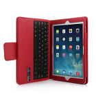 Leather Case Cover For Apple iPad Air 2 Stand With Bluetooth Keyboard 3.0