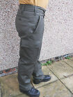 German Army Surplus Moleskin Trousers Drab Green