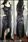 *Caroline Morgan* Black lace on nude sweetheart n/line Stunning size 10,12,14