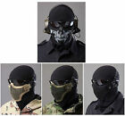 New Breathable Half Face Safety Protect Mesh Mask for War Game Paintball Hunting