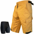 MTB Shorts Cycling Downhill Shorts Sports Cycle Road Shorts +Inner Padded Shorts
