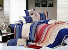 Harmony 3pc 100% Cotton Bedding Set: 1 Duvet Cover and 2 Pillowcases Queen TC300