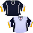 Buffalo Sabres Hockey Jersey  NHL Style Replica   NO LOGO  DJ300 $33.75 USD on eBay