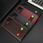 New Genuine Real Leather Flip Phone Case Cover For Apple iPhone 4/4S 5/5S