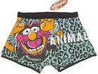 NEW THE MUPPETS ANIMAL BOXER BRIEF TRUNK NO FLY UNDERWEAR MENS S, M