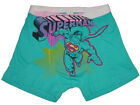 NEW DC COMICS HEROES SUPERMAN SOFT NO FLY BOXER BRIEF TRUNK UNDERWEAR S, M, L