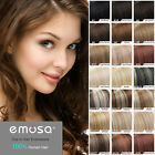 "Emosa 8pcs 90G  Remy Clip In Full Head Real  Human Hair Extensions 20"" 22"""