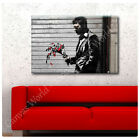 BIG Canvas Banksy Graffiti Waiting In Vain Hell's Kitchen photo prints GICLEE