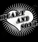 Heart And Soul T-Shirt Mens Ladies VArious Colours Great Lovers Love Affection