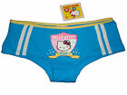 NWT SANRIO HELLO KITTY RIBBON BLUE BOYSHORT PANTY UNDERWEAR GIFTS S, M, L
