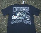 WCC OFFICIAL West Coast Choppers Bird Bike Navy Blue T-Shirts Small