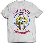 9010w LOS POLLOS HERMANOS T-SHIRT inspired BREAKING BAD vamonos pest heisenberg