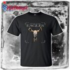 THE EAGLES Hystory classic Rock Band logo Mens t-shirt black size S to 4XLT