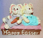 BUNNIES GALORE * SO CUTE * NEW * 6 INCHES TALL ** PASTEL COLORS ** GREAT GIFT
