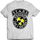 9127w Racoon City T-Shirt Resident Evil Stars Umbrella Corp Corporation Horror