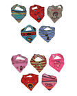 5 PCS Cute Baby Girls Boys Bandana Bibs Triangle Head Scarf Saliva Towel Dribble